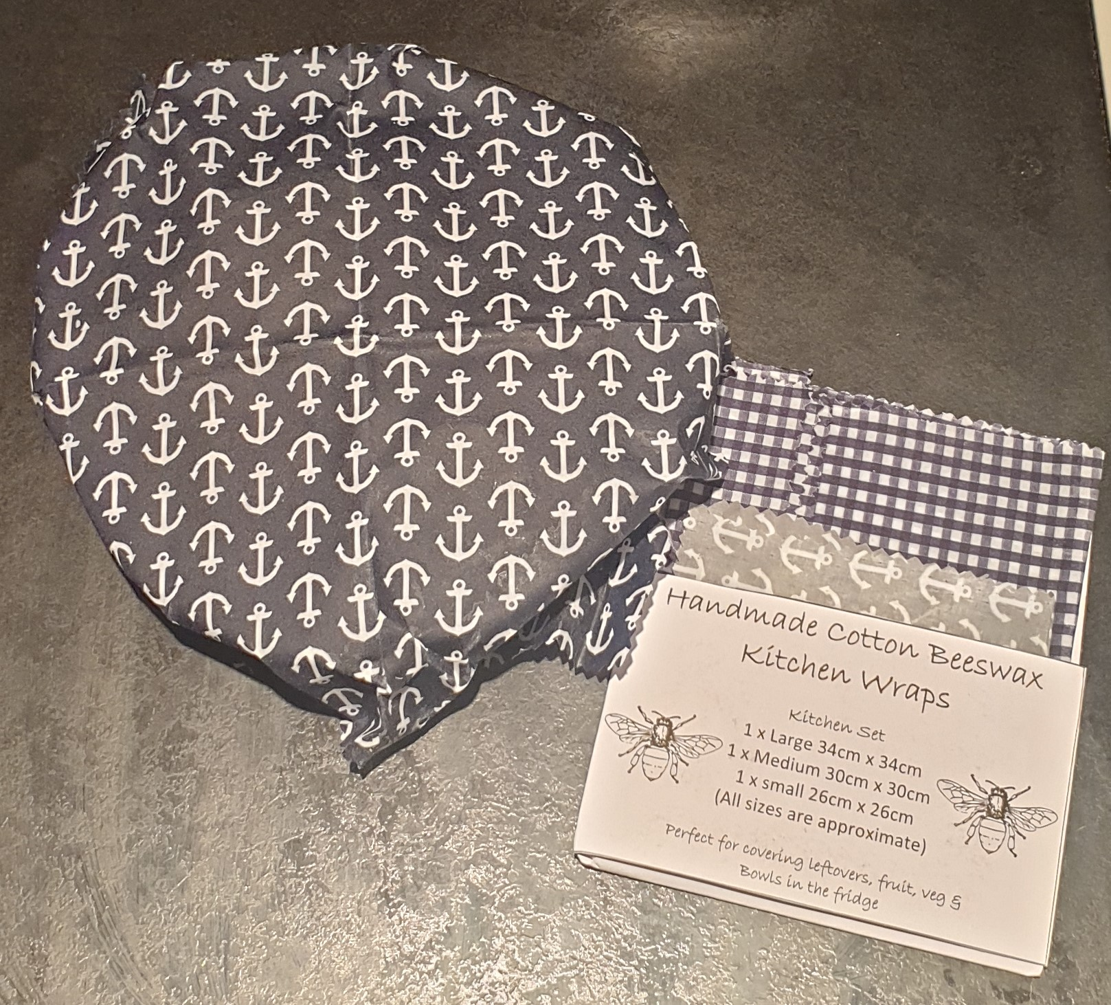 Picture of beeswax wraps