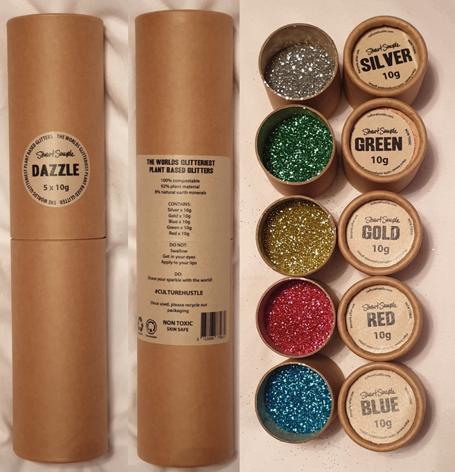 Picture of plant-based glitters